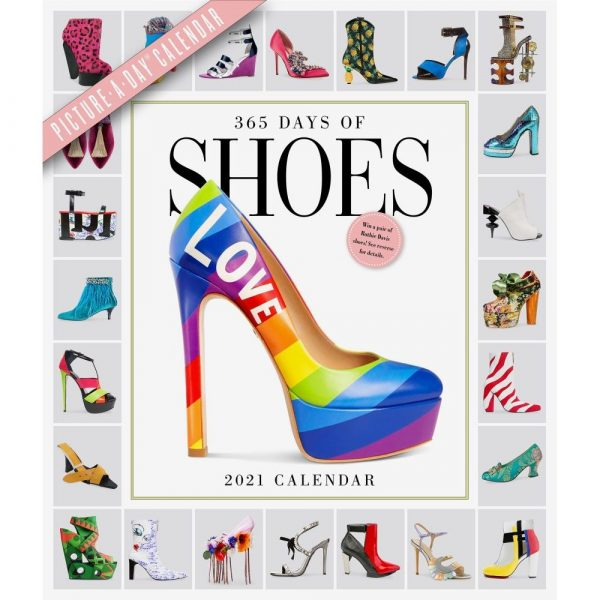 365 Days of Shoes Wall Calendar