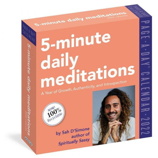 5-Minute Daily Meditations 2022 Page-A-Day Calendar