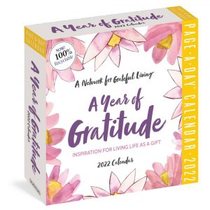 A Year of Gratitude 2022 Page-A-Day Calendar