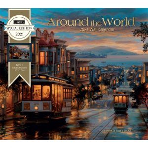 Around the World Special Edition Wall Calendar