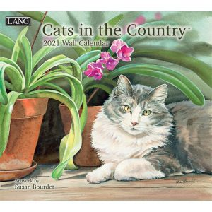 Cats in the Country Wall Calendar by Susan Bourdet