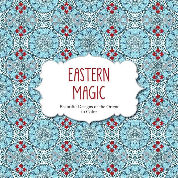 Eastern Magic Designs Coloring Book For Adults