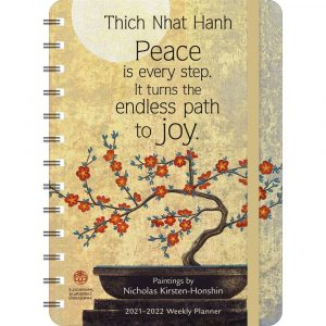 Thich Nhat Hanh 17 Month 2022 Planner